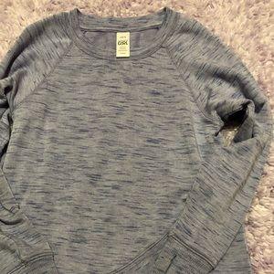 Athleta Girl 6 Criss Cross Beyond Soft Sweatshirt